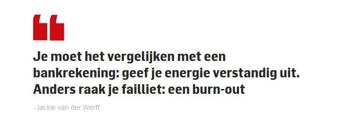 burn-out voorkomen